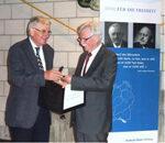 Auszeichnung von Jürgen Morlock durch die Reinhold-Maier-Stiftung